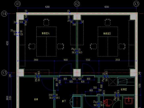 CADの画面はこんな感じ